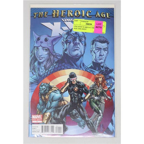 UNCANNY X-MEN #1 THE HERORIC AGE ONE-SHOT