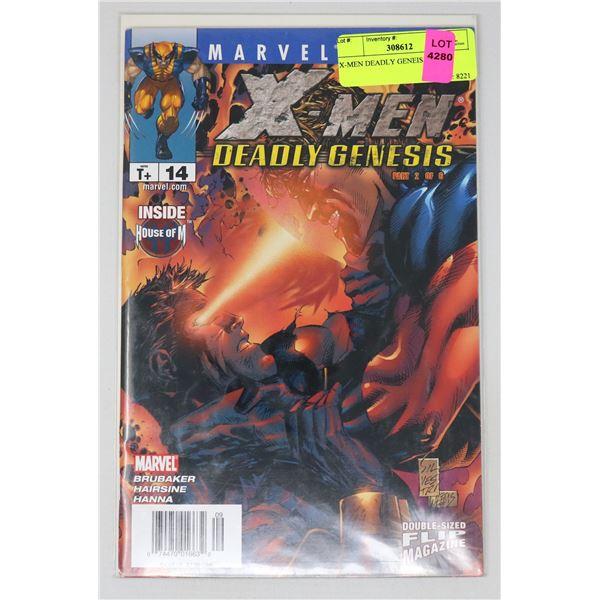 X-MEN DEADLY GENEIS #14