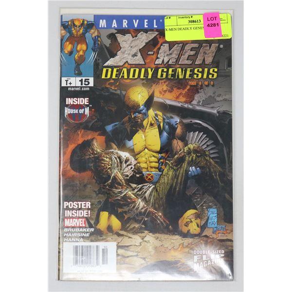 X-MEN DEADLY GENESIS #15