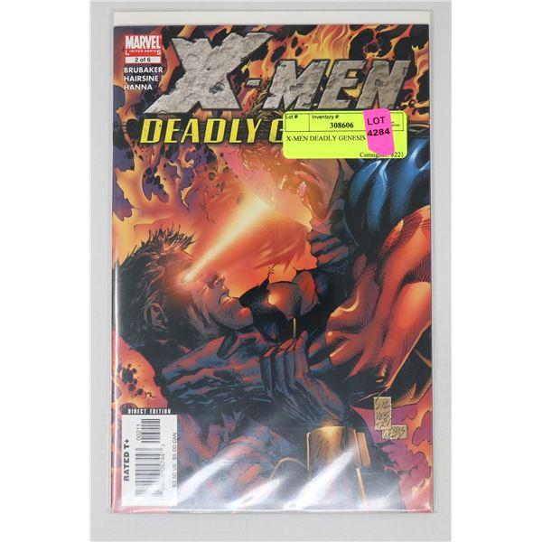 X-MEN DEADLY GENESIS 2 OF 6