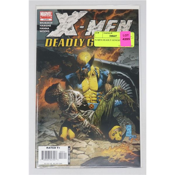 X-MEN DEADLY GENESIS 3 OF 6