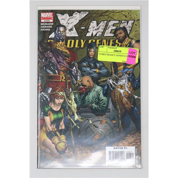 X-MEN DEADLY GENEIS 6 OF 6
