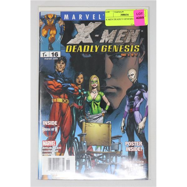 X-MEN DEADLY GENESIS #16