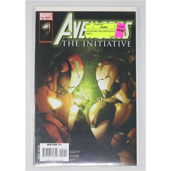 AVENGERS THE INITIATIVE #12 KEY ISSUE
