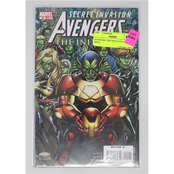 AVENGERS THE INITIATIVE #15 KEY ISSUE