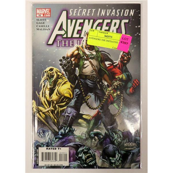 AVENGERS THE INITIATIVE #16