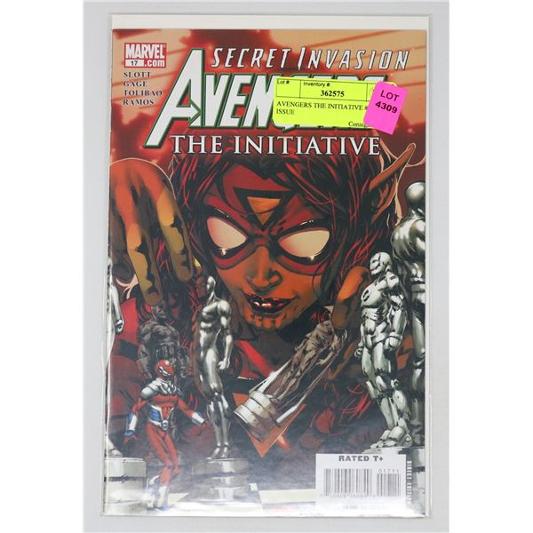 AVENGERS THE INITIATIVE #17 KEY ISSUE