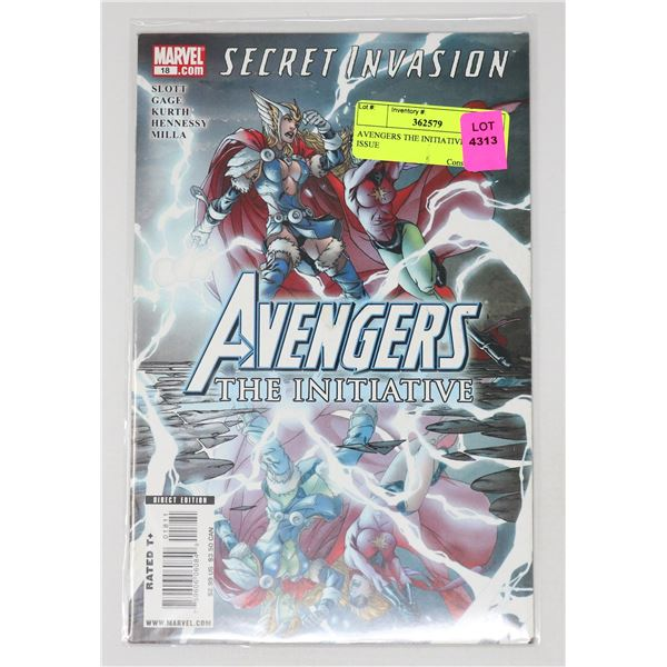 AVENGERS THE INITIATIVE #18 KEY ISSUE