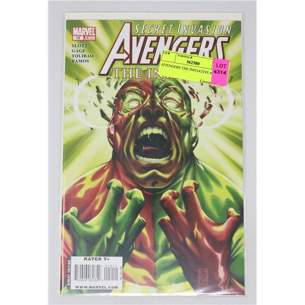 AVENGERS THE INITIATIVE #19