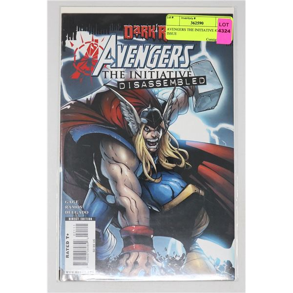 AVENGERS THE INITIATIVE #22 KEY ISSUE