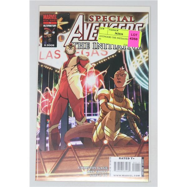 AVENGERS THE INITIATIVE SPECIAL #1
