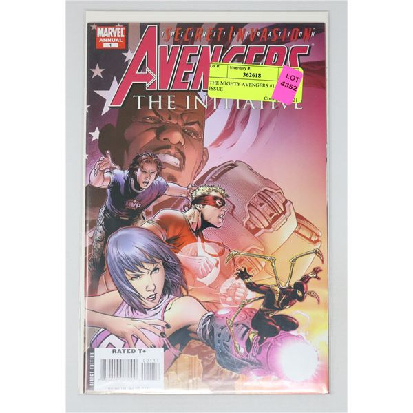 THE MIGHTY AVENGERS #1 KEY ISSUE