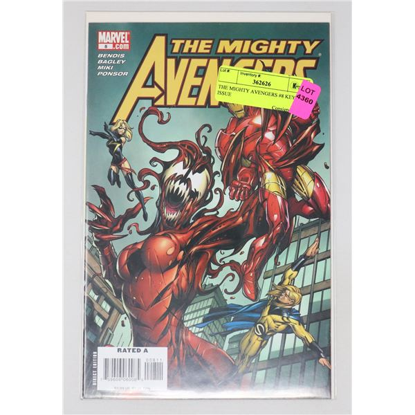 THE MIGHTY AVENGERS #8 KEY ISSUE