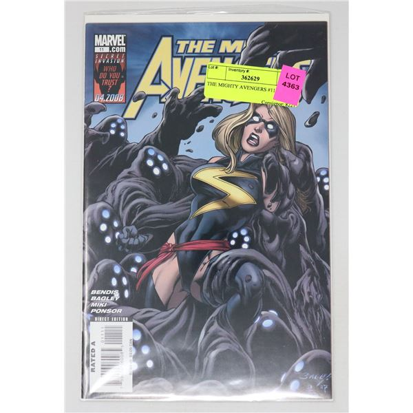 THE MIGHTY AVENGERS #11