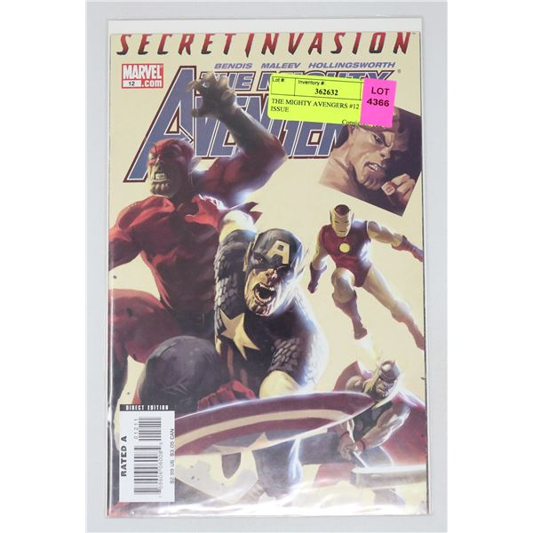 THE MIGHTY AVENGERS #12 KEY ISSUE