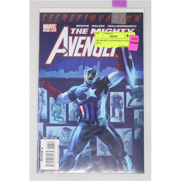 THE MIGHTY AVENGERS #13 KEY ISSUE