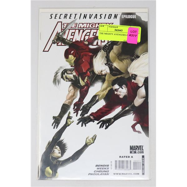 THE MIGHTY AVENGERS #20