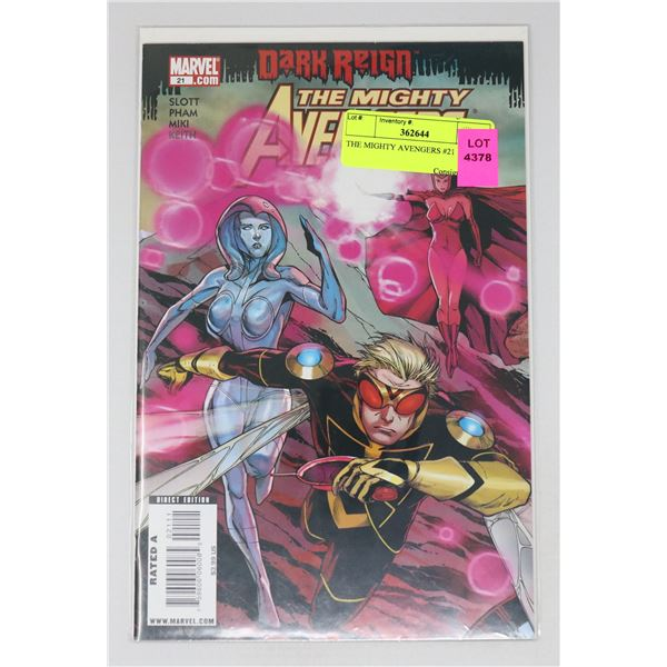 THE MIGHTY AVENGERS #21