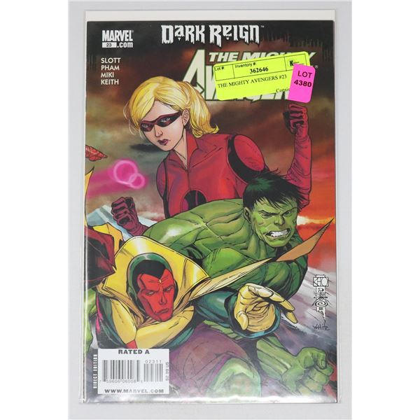 THE MIGHTY AVENGERS #23