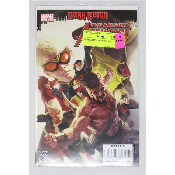 THE MIGHTY AVENGERS #26