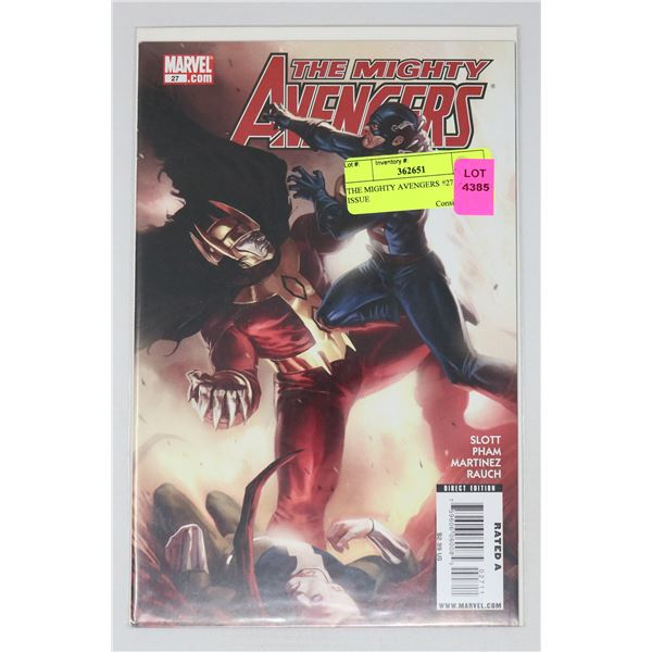 THE MIGHTY AVENGERS #27 KEY ISSUE