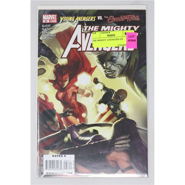 THE MIGHTY AVENGERS #28