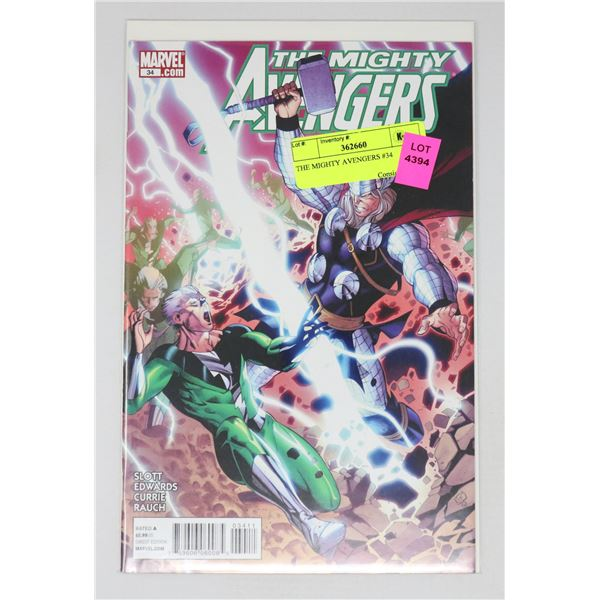 THE MIGHTY AVENGERS #34