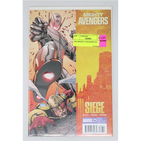 THE MIGHTY AVENGERS #36