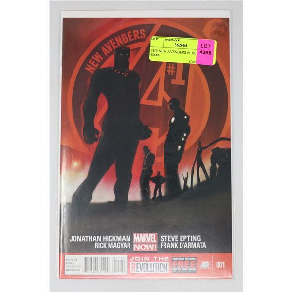 THE NEW AVENGERS #1 KEY ISSUE $$$$$