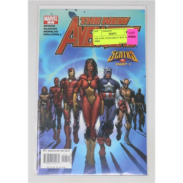 THE NEW AVENGERS #7 KEY ISSUE $$$$$
