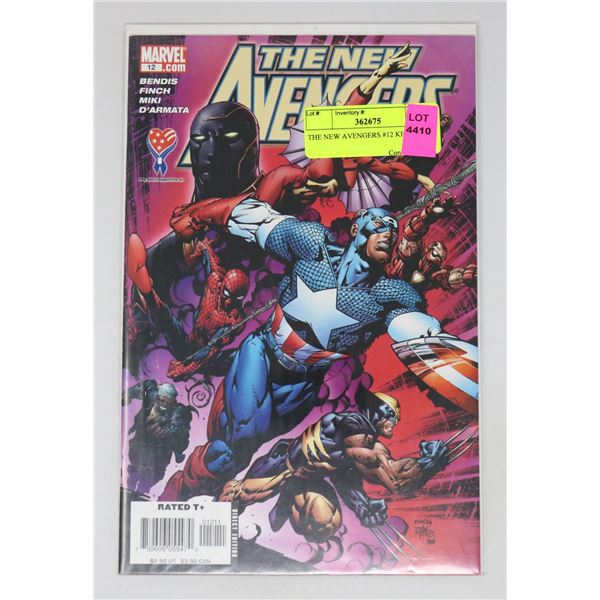 THE NEW AVENGERS #12 KEY ISSUE