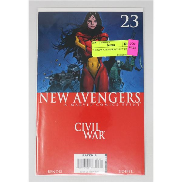 THE NEW AVENGERS #23 KEY ISSUE