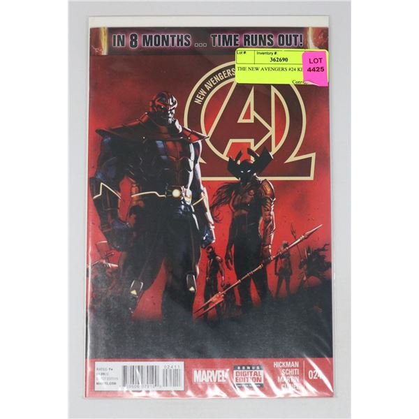 THE NEW AVENGERS #24 KEY ISSUE