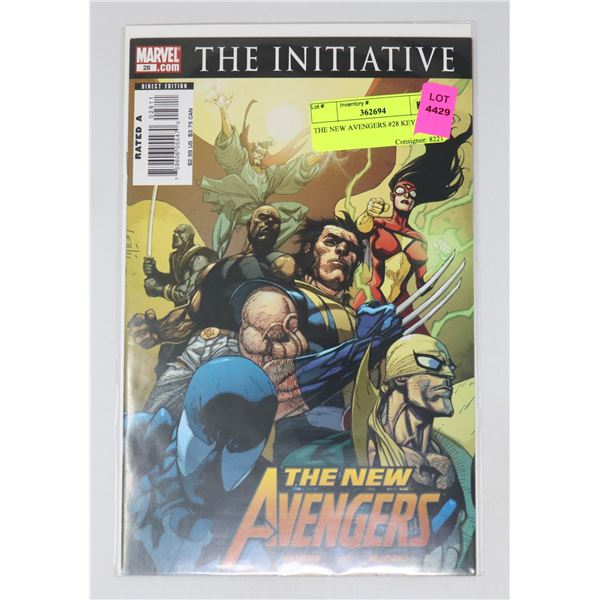 THE NEW AVENGERS #28 KEY ISSUE