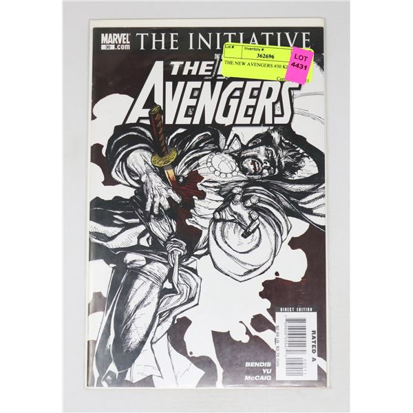THE NEW AVENGERS #30 KEY ISSUE