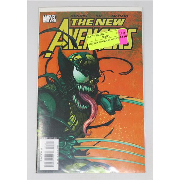 THE NEW AVENGERS #35 KEY ISSUE
