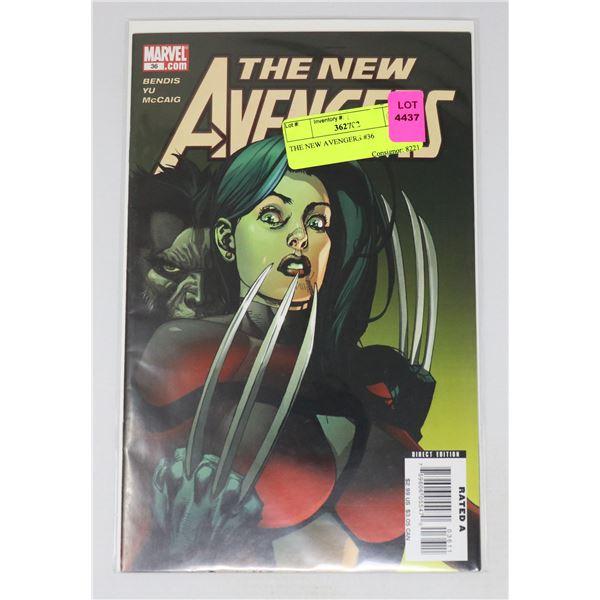 THE NEW AVENGERS #36