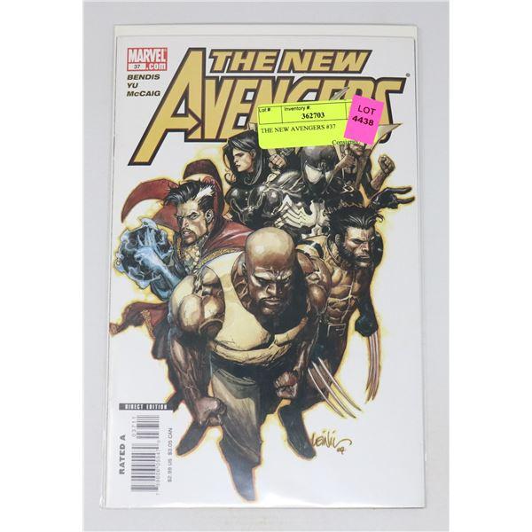 THE NEW AVENGERS #37