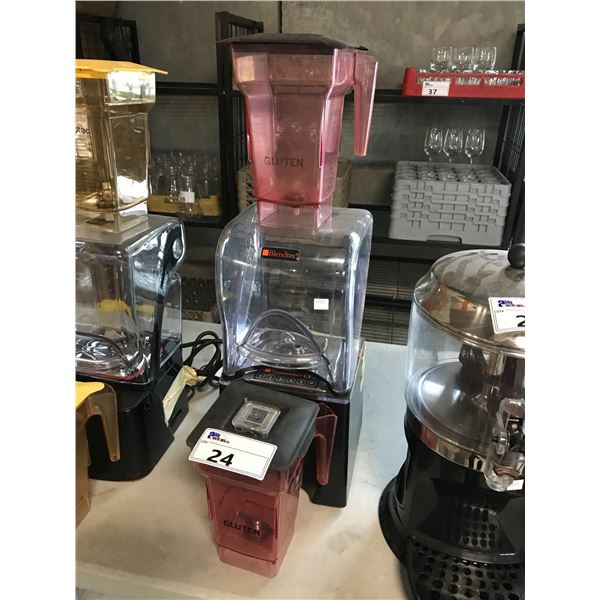 BLENDTEC SMOOTHER 13 BLENDER WITH EXTRA CONTAINER
