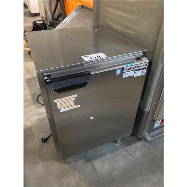"""BEVERAGE AIR STAINLESS STEEL FREEZER 20""""W X 20"""" H MODEL# UCF20"""