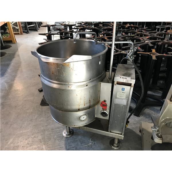 VULCAN TILTING ELECTRIC STEAM JACKETED KETTLE
