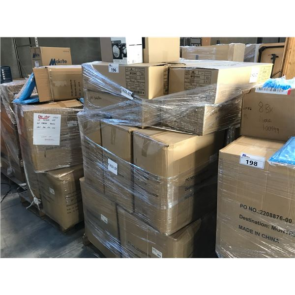 PALLET LOT OF DELTA PLUS MC DUST MASKS AND PPE CLOTHING