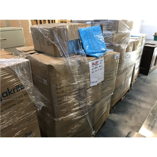 PALLET LOT OF PPE CLOTHING
