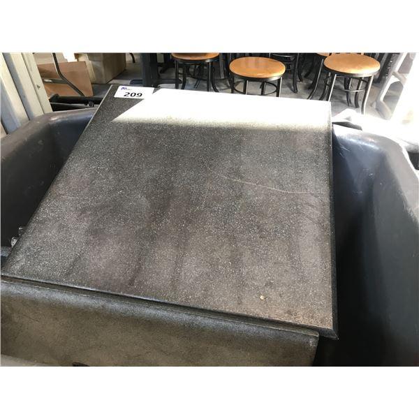 25 GRAY GRANITE TABLE TOPS