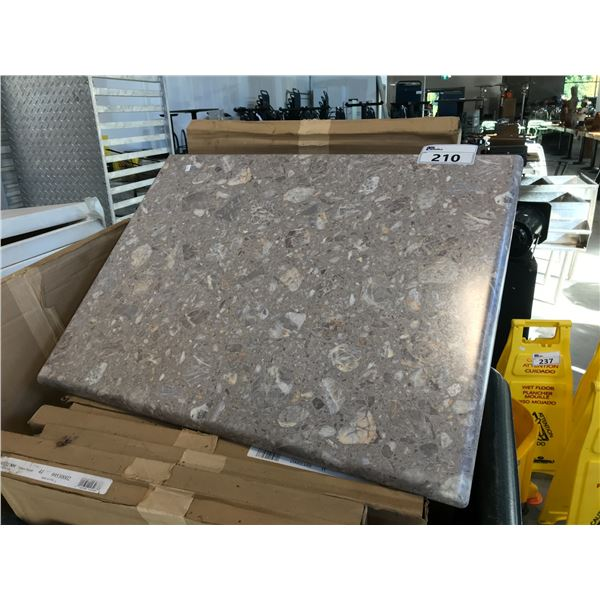 """LARGE LOT OF 24"""" X 32"""" TOKYO STONE TABLE TOPS - BIN NOT INCLUDED"""