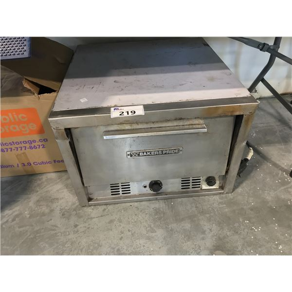 BAKERS PRIDE TABLE TOP PIZZA OVEN