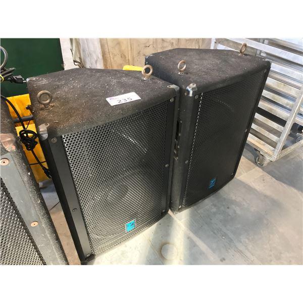 2 YORKVILLE ELITE E15 450 WATT MID RANGE LOUD SPEAKERS