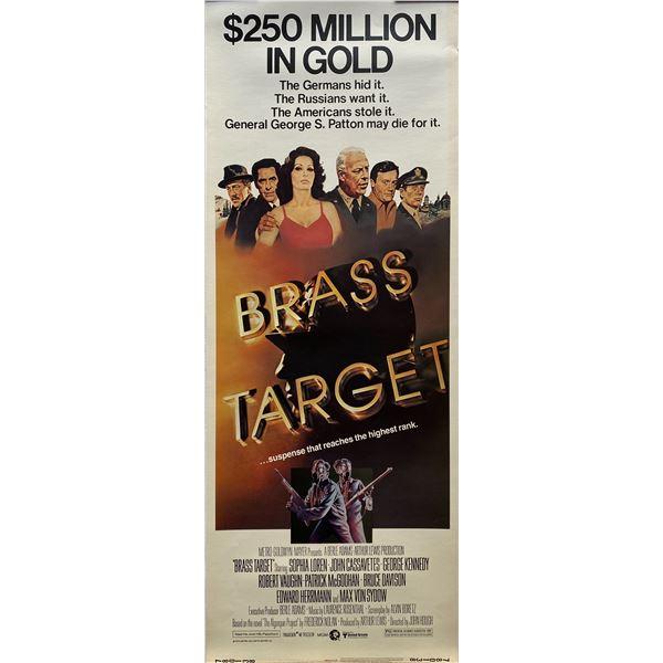 Brass Target insert card