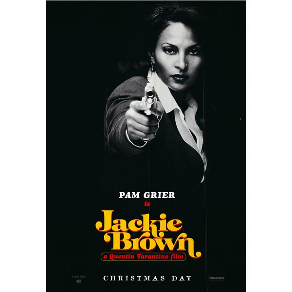 Jackie Brown 1997 original one sheet poster