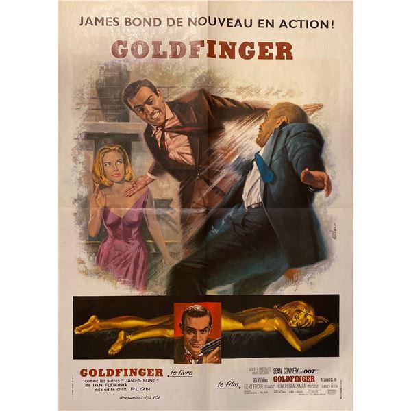 Goldfinger 1980 original vintage insert card